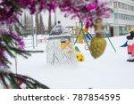 Christmas Snow Sculpture...
