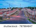 popular housing in brazil | Shutterstock . vector #787884847