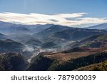 high atlas mountain near... | Shutterstock . vector #787900039