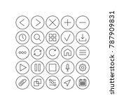 web icons vector | Shutterstock .eps vector #787909831