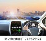 drive on road  transportation... | Shutterstock . vector #787914421