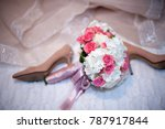 wedding bouquet  wedding... | Shutterstock . vector #787917844