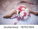 wedding bouquet  wedding... | Shutterstock . vector #787917844