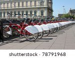 Bicycle Parking In The City....
