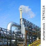 industrial zone  steel...   Shutterstock . vector #78793114