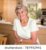 beautiful portrait of pretty...   Shutterstock . vector #787952941