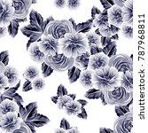 abstract elegance seamless... | Shutterstock . vector #787968811