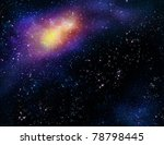 deep outer space background... | Shutterstock . vector #78798445