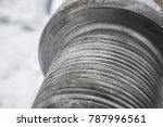 drilling of oil and gas wells....   Shutterstock . vector #787996561