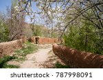 abyaneh village a relic of... | Shutterstock . vector #787998091