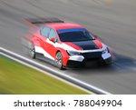 race car racing at high speed... | Shutterstock . vector #788049904