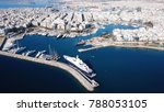 aerial drone bird's eye view of ... | Shutterstock . vector #788053105