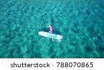 aerial drone bird's eye view of ...   Shutterstock . vector #788070865