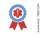 medical symbol   caduceus icon  ...   Shutterstock .eps vector #788071204
