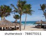 white beach in vietnam vacation ... | Shutterstock . vector #788075311