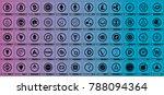 vector cryptocurrencies black...   Shutterstock .eps vector #788094364