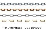 Collection Of Various Chain On...