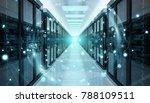 digital white earth network... | Shutterstock . vector #788109511
