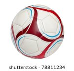 volleyball ball isolated on... | Shutterstock . vector #78811234