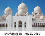 famous sheikh zayed mosque in... | Shutterstock . vector #788121469