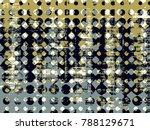 abstract grunge vector... | Shutterstock .eps vector #788129671