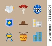 icon set about united states... | Shutterstock .eps vector #788160709
