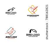 bird logo design vector | Shutterstock .eps vector #788162821