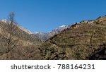 atlas village  ourika valley.   Shutterstock . vector #788164231