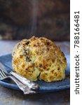 whole roast cauliflower stuffed ... | Shutterstock . vector #788166481