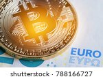 bitcoin cryptocurrency is... | Shutterstock . vector #788166727