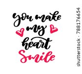valentine s day vector... | Shutterstock .eps vector #788176654
