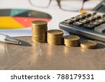 stock financial indices with...   Shutterstock . vector #788179531