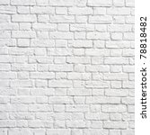 white brick wall  perfect as a... | Shutterstock . vector #78818482