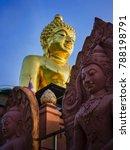 Golden Buddha Statue At Golden...