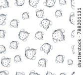 pattern teapots sugar bowl | Shutterstock .eps vector #788201131