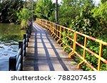 river bridge walkway | Shutterstock . vector #788207455