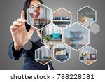 business woman  architect  ... | Shutterstock . vector #788228581