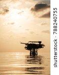 offshore construction platform...   Shutterstock . vector #788240755