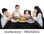 image of christian family...   Shutterstock . vector #788242021