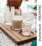 iced latte coffee | Shutterstock . vector #788244481