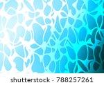 light blue vector doodle... | Shutterstock .eps vector #788257261