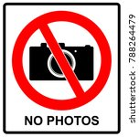 no photo camera  sign isolated... | Shutterstock . vector #788264479
