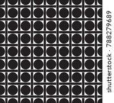 seamless geometric dot and... | Shutterstock .eps vector #788279689