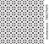 seamless geometric dot and... | Shutterstock .eps vector #788279695