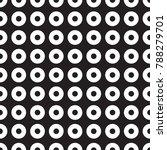 seamless geometric dot and... | Shutterstock .eps vector #788279701