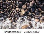 Heap Of Small Beautiful Pebble...