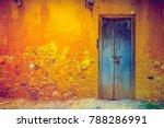 stylish cracked vintage...   Shutterstock . vector #788286991