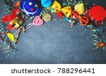 colorful birthday or carnival... | Shutterstock . vector #788296441