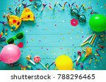 colorful birthday or carnival...   Shutterstock . vector #788296465