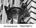 Small photo of NEW YORK USA OCTOBER 27: Details of the Chrysler building facade on October 27, 2013 in New York, was the world's tallest building before it was surpassed by the Empire State Building in 1931.